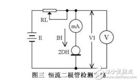 恒流二极管的检测方法