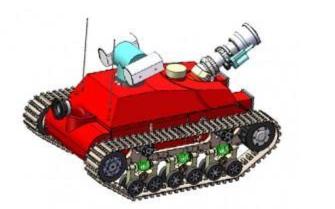 火场上的新力量 消防机器人