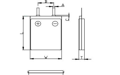 904369CL 3000mAh的低温聚合物锂离子电池数据手册免费下载