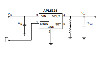 APL5325 P通道低电压降线性稳压器的数据手册免费下载