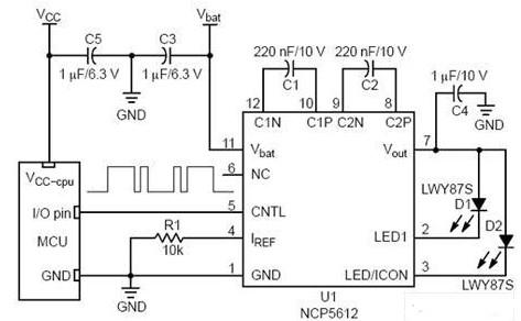 小型彩色LCD顯示屏的背光LED驅動電路設計及注意事項