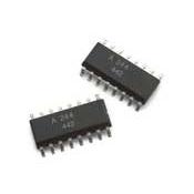 ACPL-244-500E 交流输入,多通道半间距光电晶体管光电耦合器