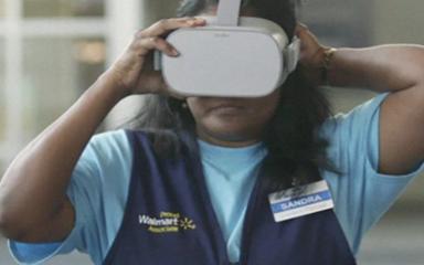 沃尔玛将VR技术用于管理者选拔和考核