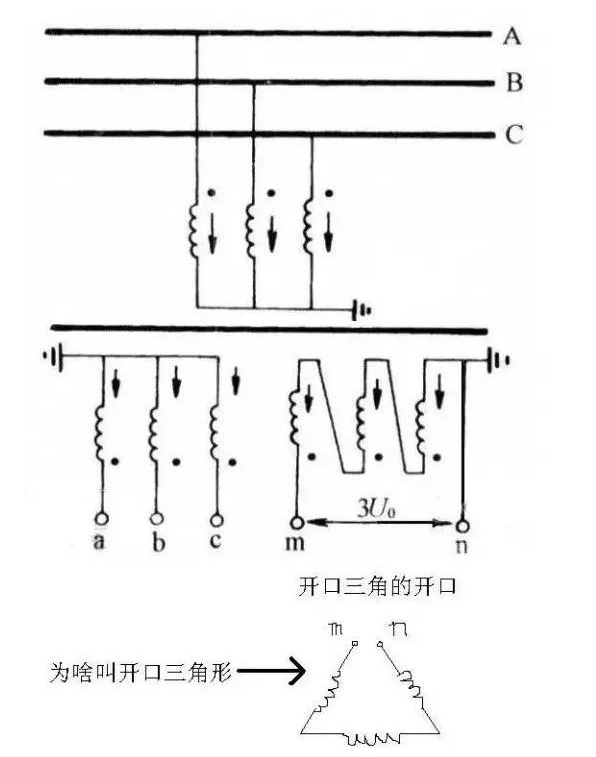 电压互感器的接线图片