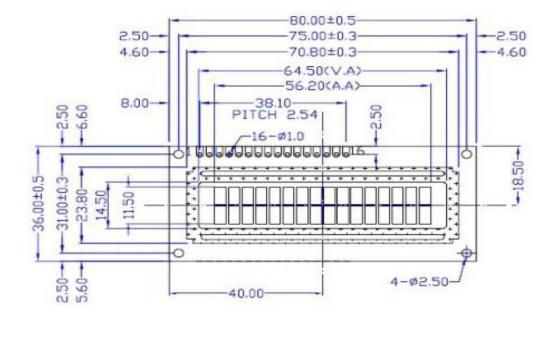 LCD1602 LCD的指令使用手册资料免费下载