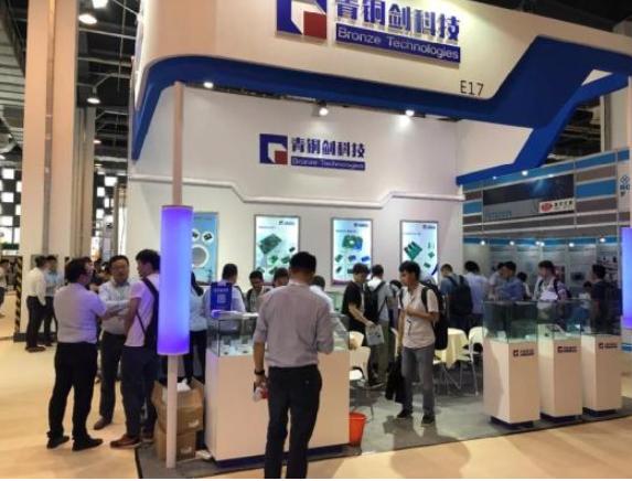 青铜剑科技参展PCIM Asia 2019, 纯国产驱动方案广受关注