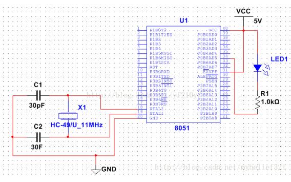 如何在Multisim 12.0上搭建并仿真51单片机的最小系统