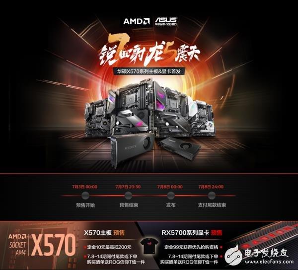 华硕X570系列主板开启预售