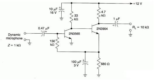前置放大器的作用及电路图