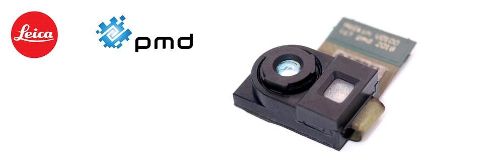 pmd與徠卡相機公司合作開發的Holkin 3D深感相機模塊