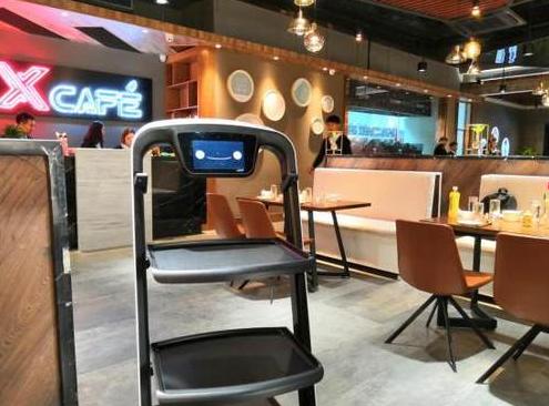 送餐机器人将引领餐饮新时代