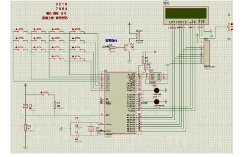 使用51單片機設計指紋密碼鎖的電路原理圖和PCB資料免費下載