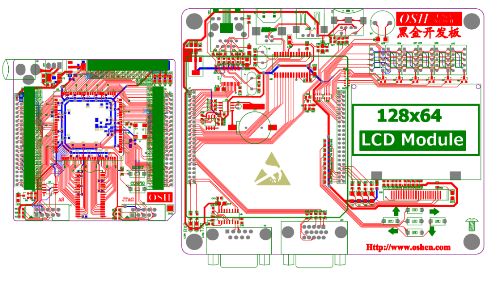 FPGA的PCB原理图资料免费下载