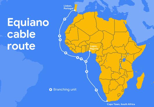 谷歌正式宣布了将建造Equiano海缆系统的计划