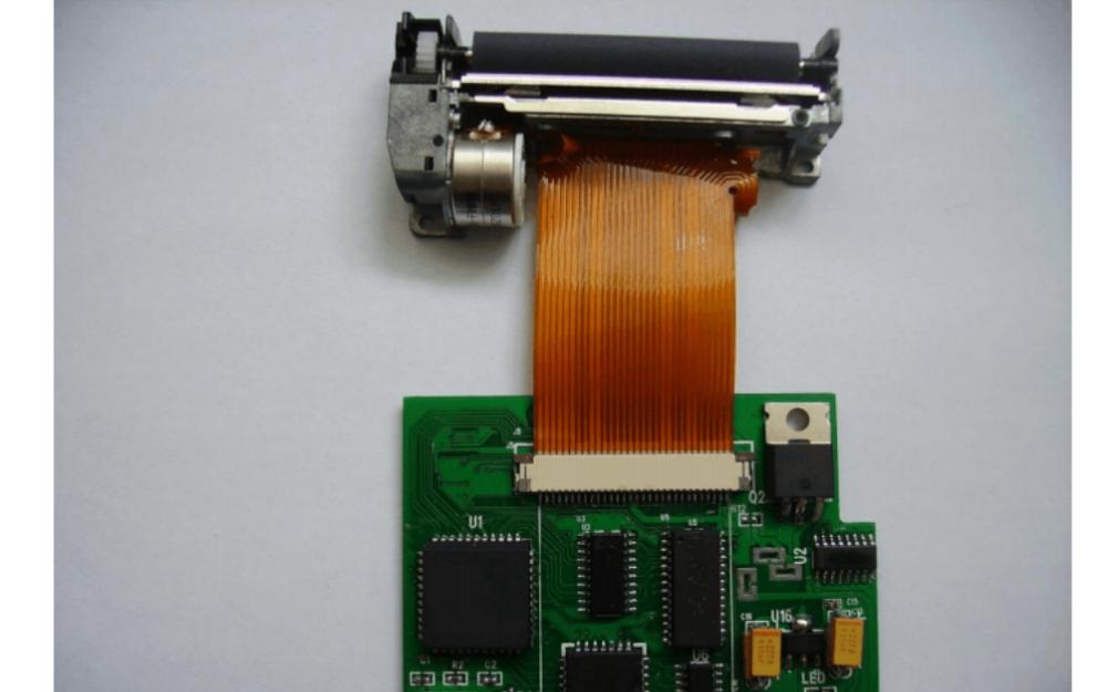 FTP628 MCL101热敏打印机机芯驱动控制板开发使用手册