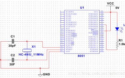 如何使用Multisim 12.0 搭建并仿真51单片机最小系统