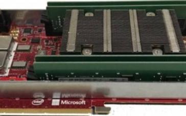 微软最新发布FPGA深度学习云平台