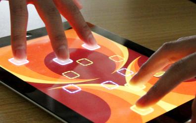 微軟推出手筆混合多點觸摸技術