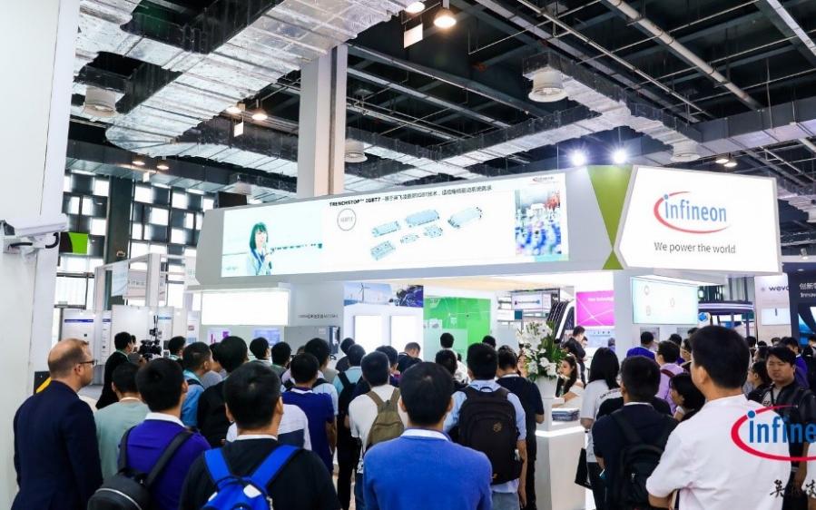 英飞凌亮相PCIM Asia 2019,以最新产...