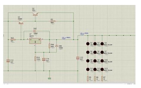 使用51单片机设计LED点阵呼吸灯效果程序免费下载