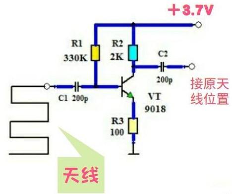 天线放大电路的原理与制作方法是什么