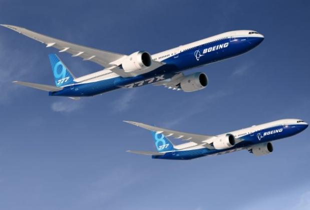 波音公司透露波音777X飞机将于2020年推出并投入运营