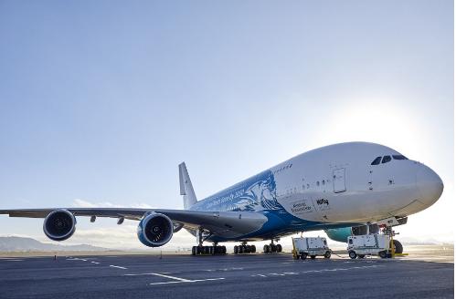 马达加斯加航空首次利用空客A380客机完成了航线的执飞任务