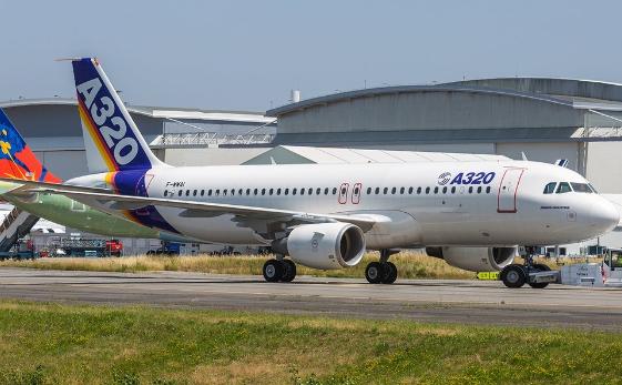 空客表示未来十年内A320系列飞机的月产量能达到...