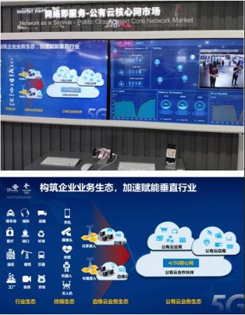 中國聯通攜手華為成功打造出了國內首例網絡即服務公有云核心網