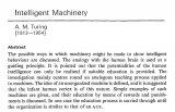 《智能机器》再掀热议,却一生未发表