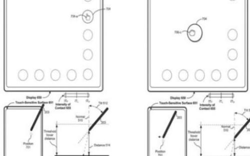 苹果新技术获得了隔空触屏技术专利
