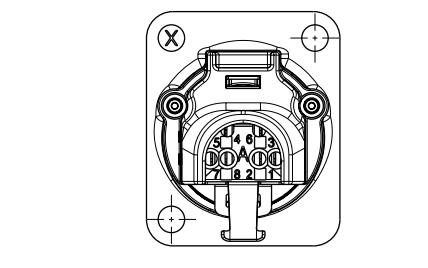 NE8FDX-Y6以太网连接器的尺寸原理图免费下载
