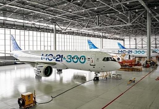 俄罗斯飞机制造商伊尔库特为MC-21客机订购了40台PW1400G发动机