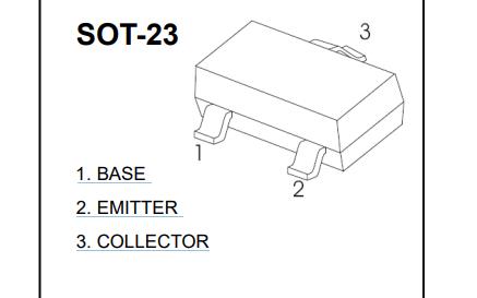 S8050 NPN型半导体三极管的数据手册免费下载