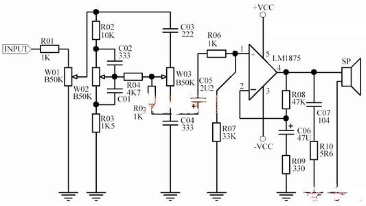 lm1875功放电路板的参数及原理是什么