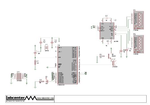 nRF24L01无线模块通过串口通信的功能实现控制LED灯的设计