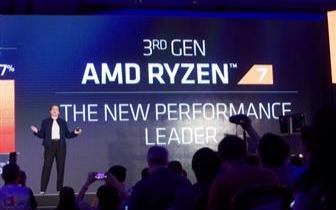 AMD发布7nm台式机CPU,GPU 服务器CPU即将到来