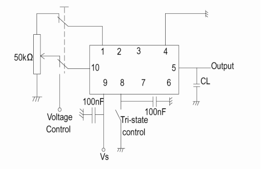 CFPT-9006温补压控晶振的数据手册免费下载