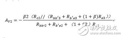 如何用公式去求三极管放大电路的放大倍数