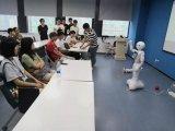 南京工程学院电子信息科学的224名大二学生进行智能互联实践学习