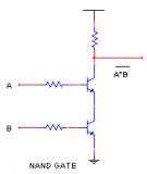 【实用】逻辑门器件,直接用二极管、三极管搭建!