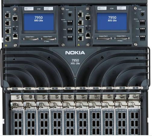 诺基亚7950核心路由器已完成了全球首例400GE商用部署