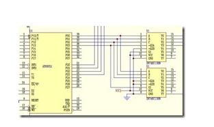 AT89S52单片机对LED点阵显示屏的控制设计