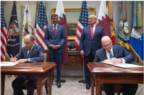 卡塔尔航空与波音公司签署了5架波音7747货机的购机协议