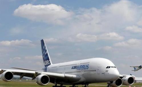 欧盟航空安全局指出现役空客A380飞机中部分飞机机翼出现了裂缝情况