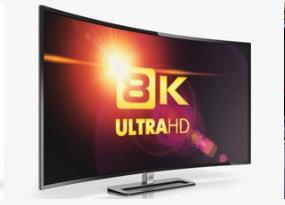 5G时代的到来为8K电视的发展提供了强大的助力