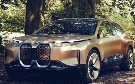宝马推出具有隐形控制功能的电动无人驾驶汽车