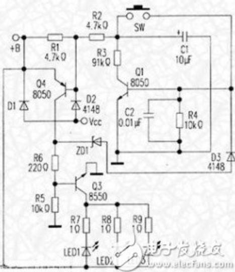 台灯电路的工作原理及故障维修方法