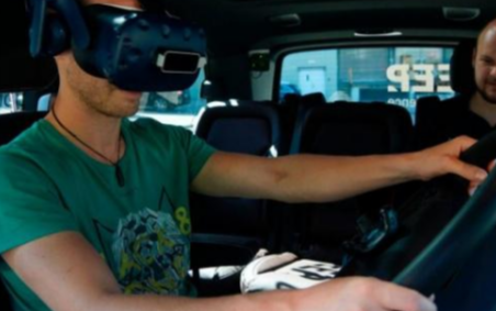 VR技术帮助司机提前体验未来驾驶系统