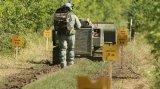 俄军将启用新型排雷机器人 大幅降低人员损失的风险